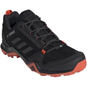 adidas TERREX AX3 Hiking Shoes Lightweight Men, core black/carbon/active orange